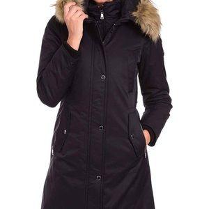 1 Madison Expedition Heritage Faux Fur Parka Coat